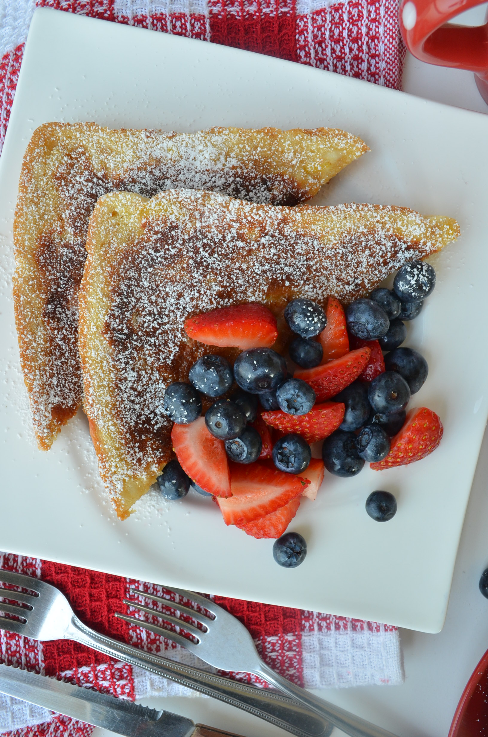 Singe Serve French Toast