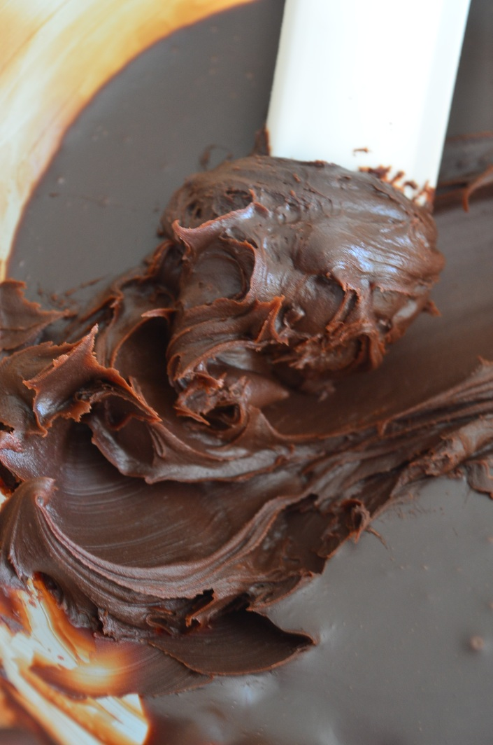 Chocolate Ganache without heavy cream at SweetNSpicyLiving.com