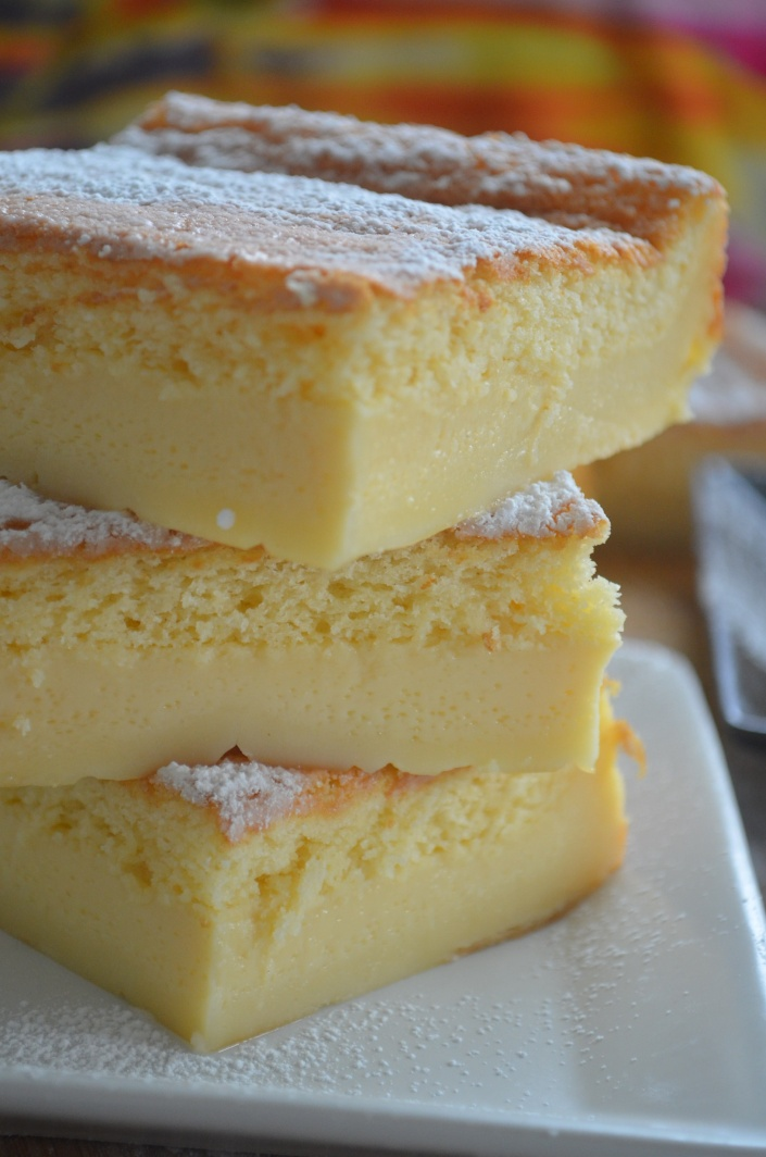 Magic Custard Cake Recipe