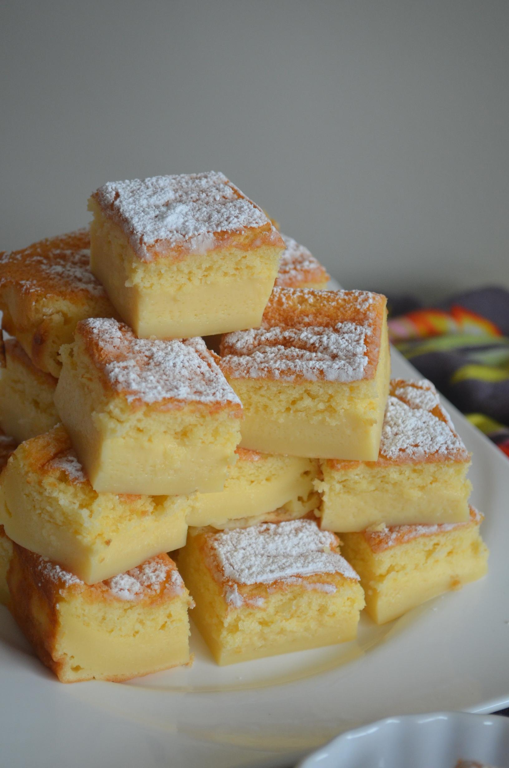 Magic Custard Cak