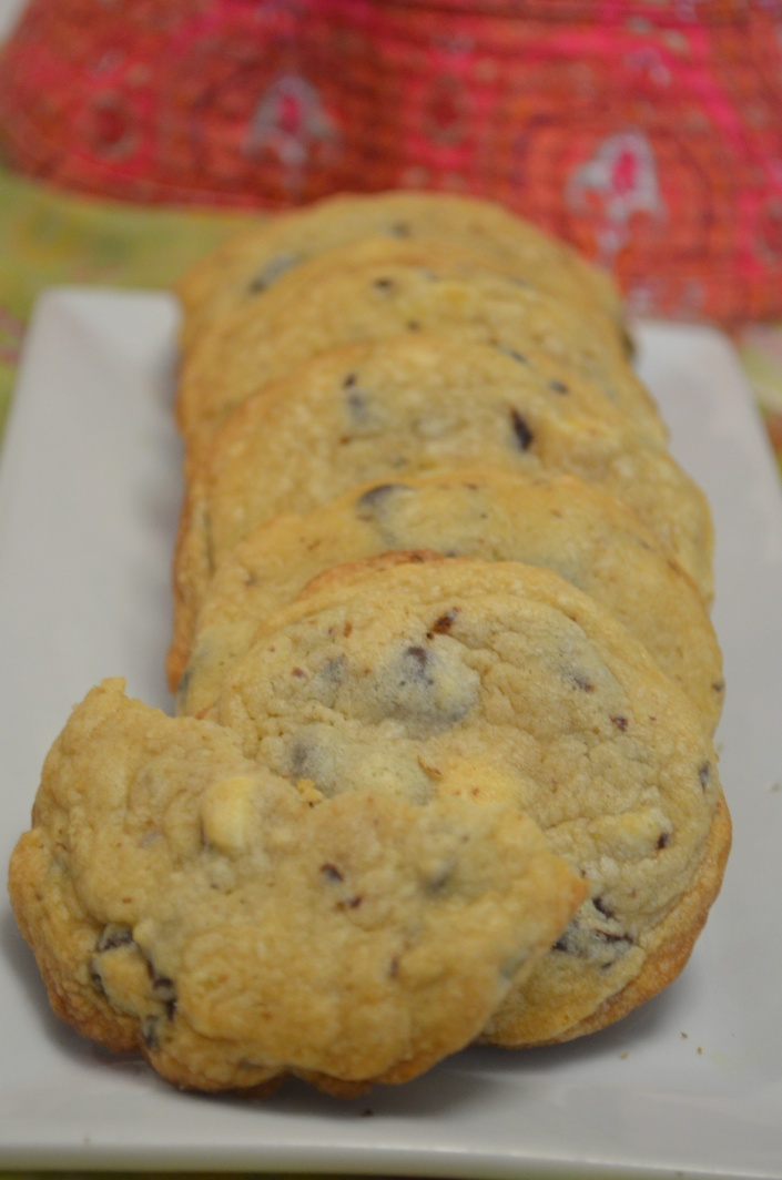 Small Batch Soft & Chewy Chocolate Chip Cookie