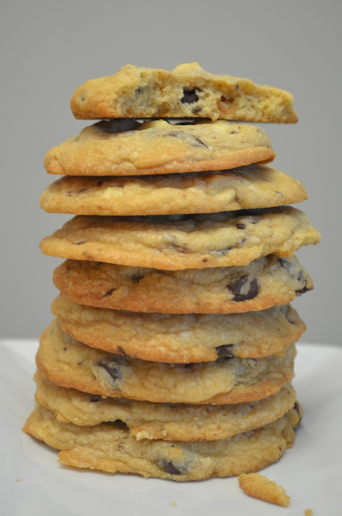 Soft & Chewy Chocolate Chip Cookie (Small Batch)