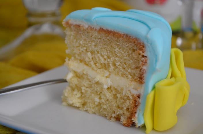 Madeira  Fondant Cake