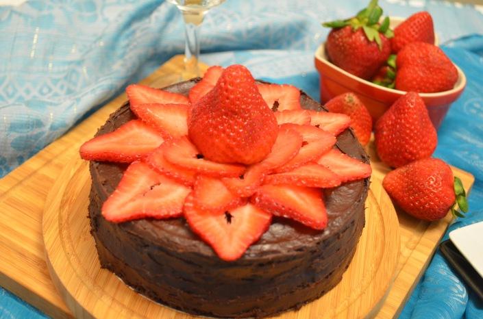 Passover Chocolate Quinoa Cake