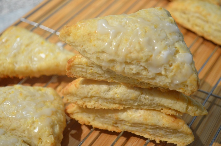 Soft and Flakey Orange Scones Recipe
