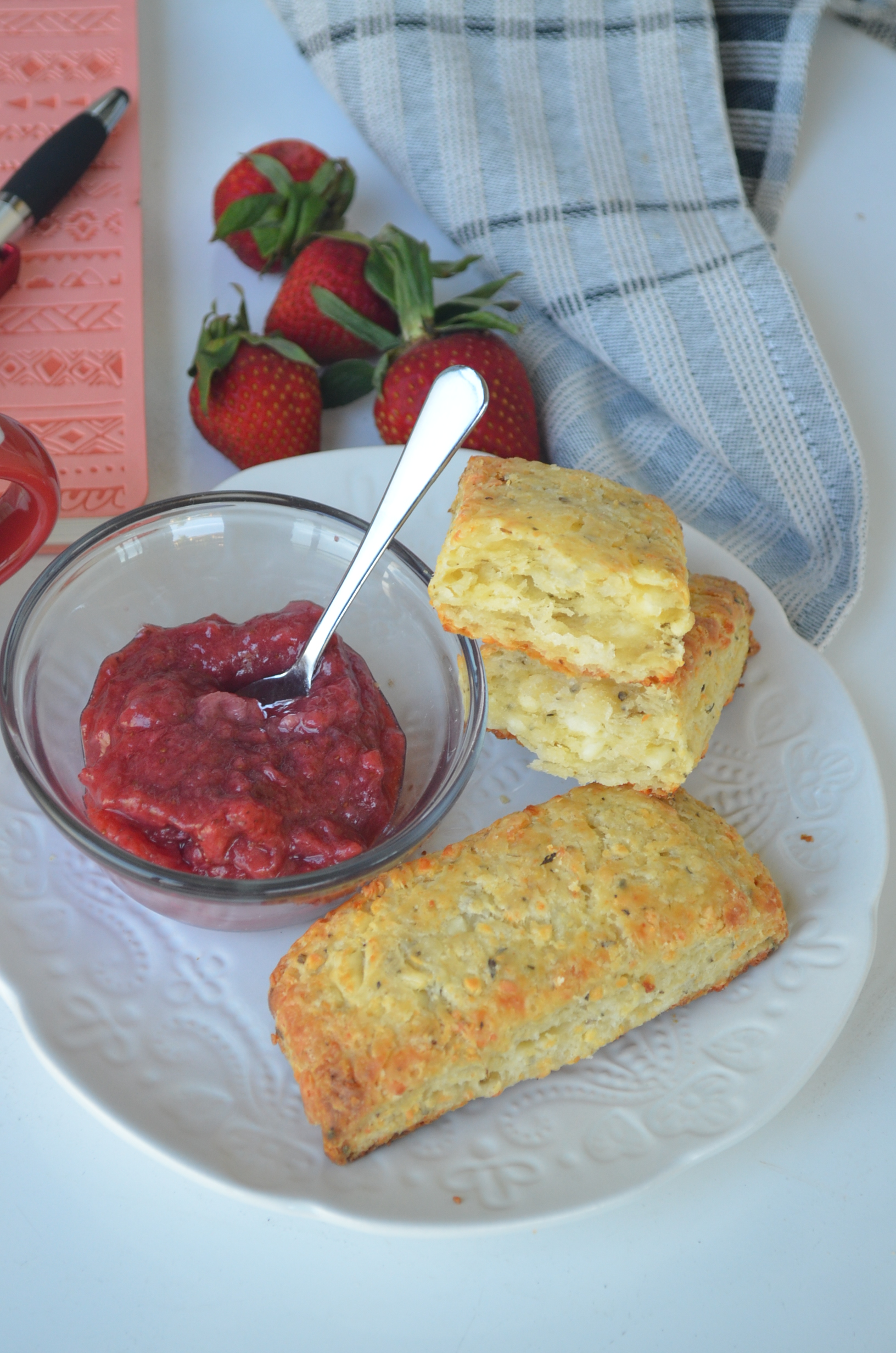 Feta Bisuit By SweetNSpicyLiving.com