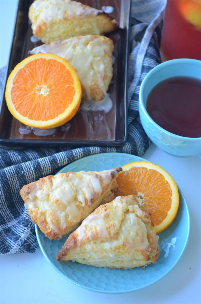 Flakey Orange Scones