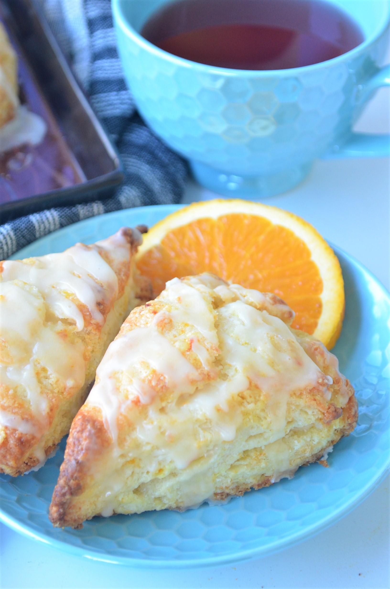 Fresh Orange Scones