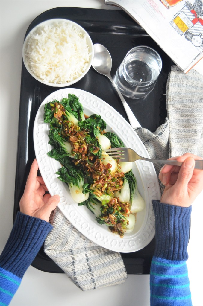 Meat Free Monday Garlic Bok Choy