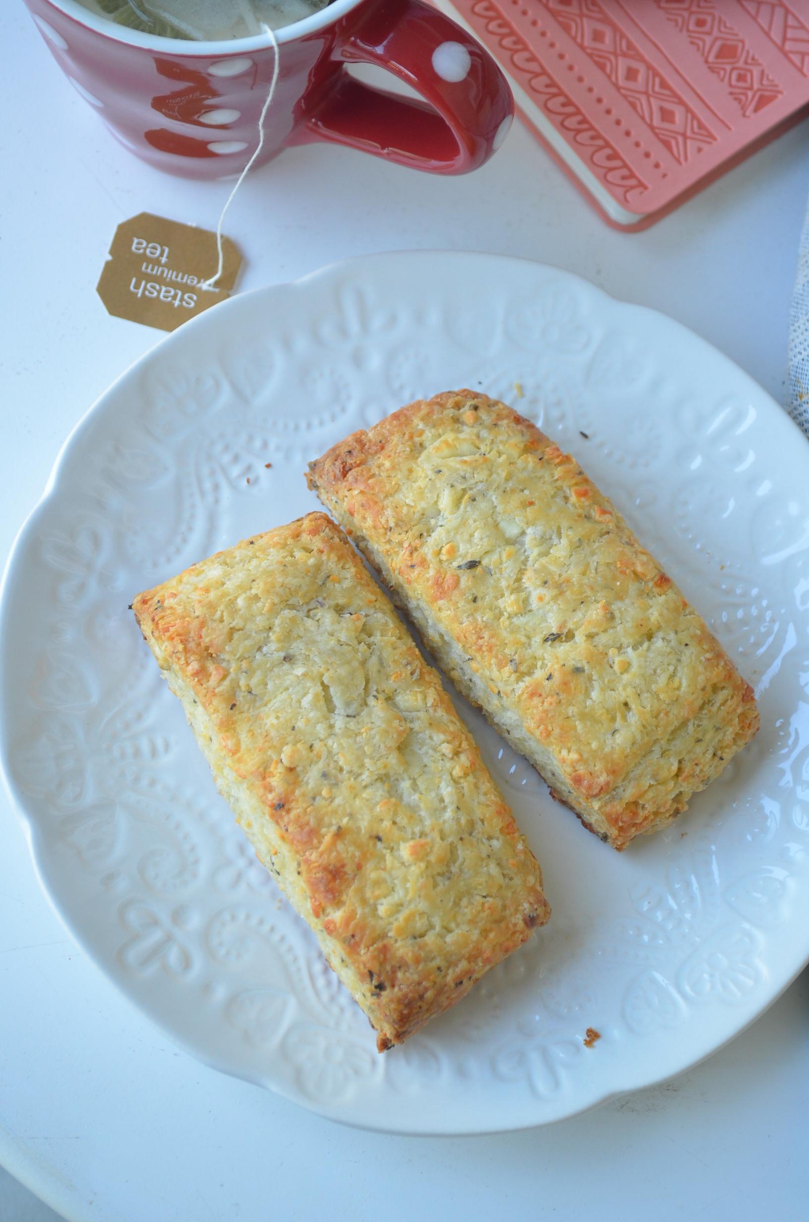 Herb Buttermilk Feta Biscuits