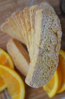 Homemade Orange Biscotti recipe