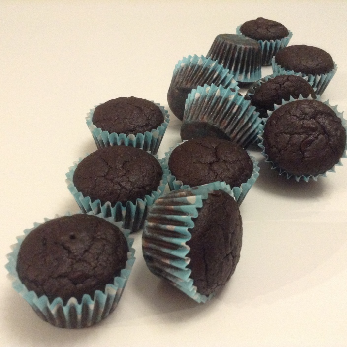 Black Beans Chocolate Cupcakes