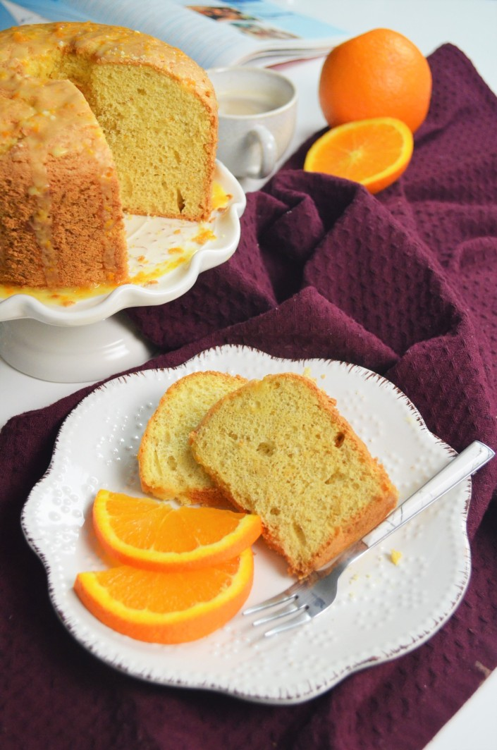 Orange Chiffon Cake By SweetNSpicyLiving