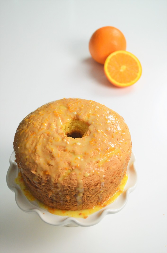 The BEST Orange Chiffon Cake