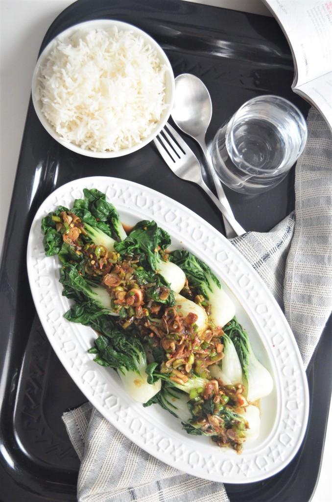 Garlic Bok Choy By SweetNSPicyLiving