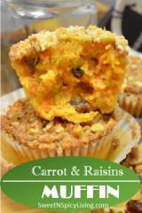 Carrot Muffin Blog