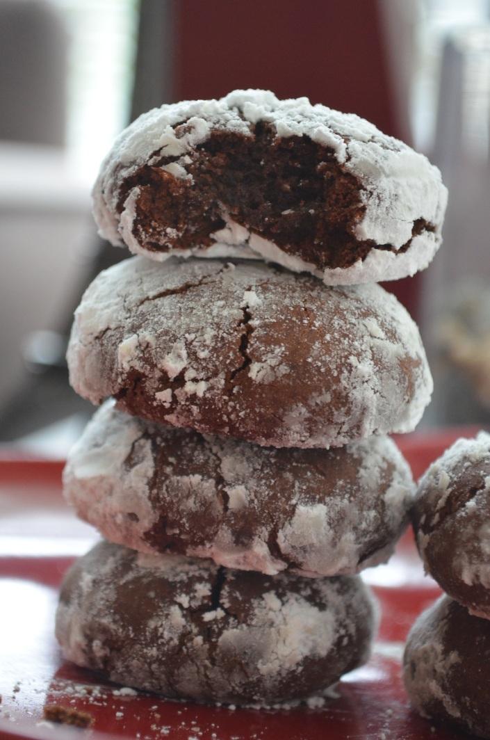 Cocoa Crinkles Cookies