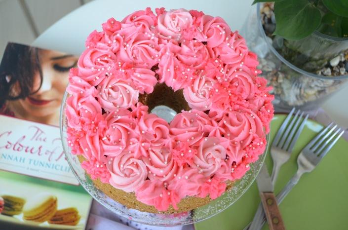 Matcha Chiffon Cake (Small Batch)