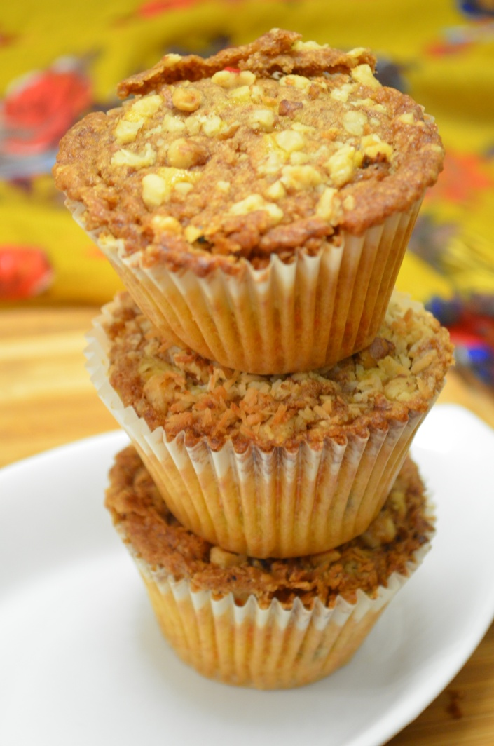 Whole Wheat Carrot Streusel Muffin