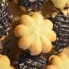 Shortbread Chocolate GanacheCookies