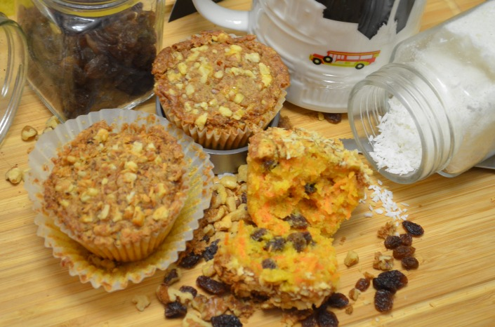 Carrot Streusel Muffin (Small Batch)