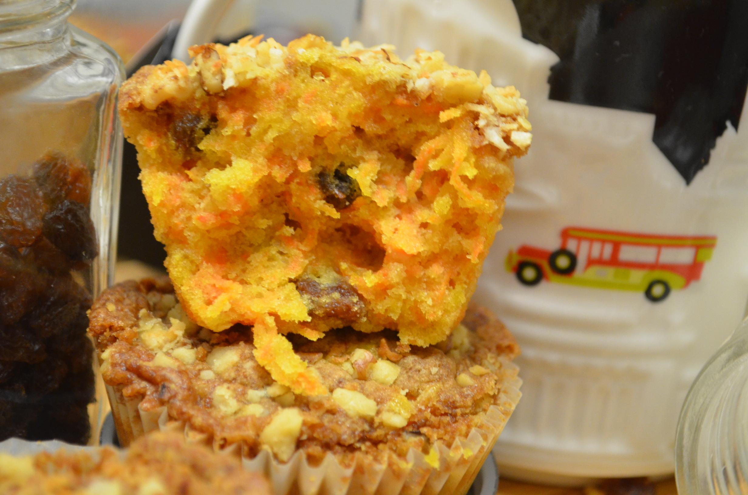 Carrot Muffin (Small Batch)