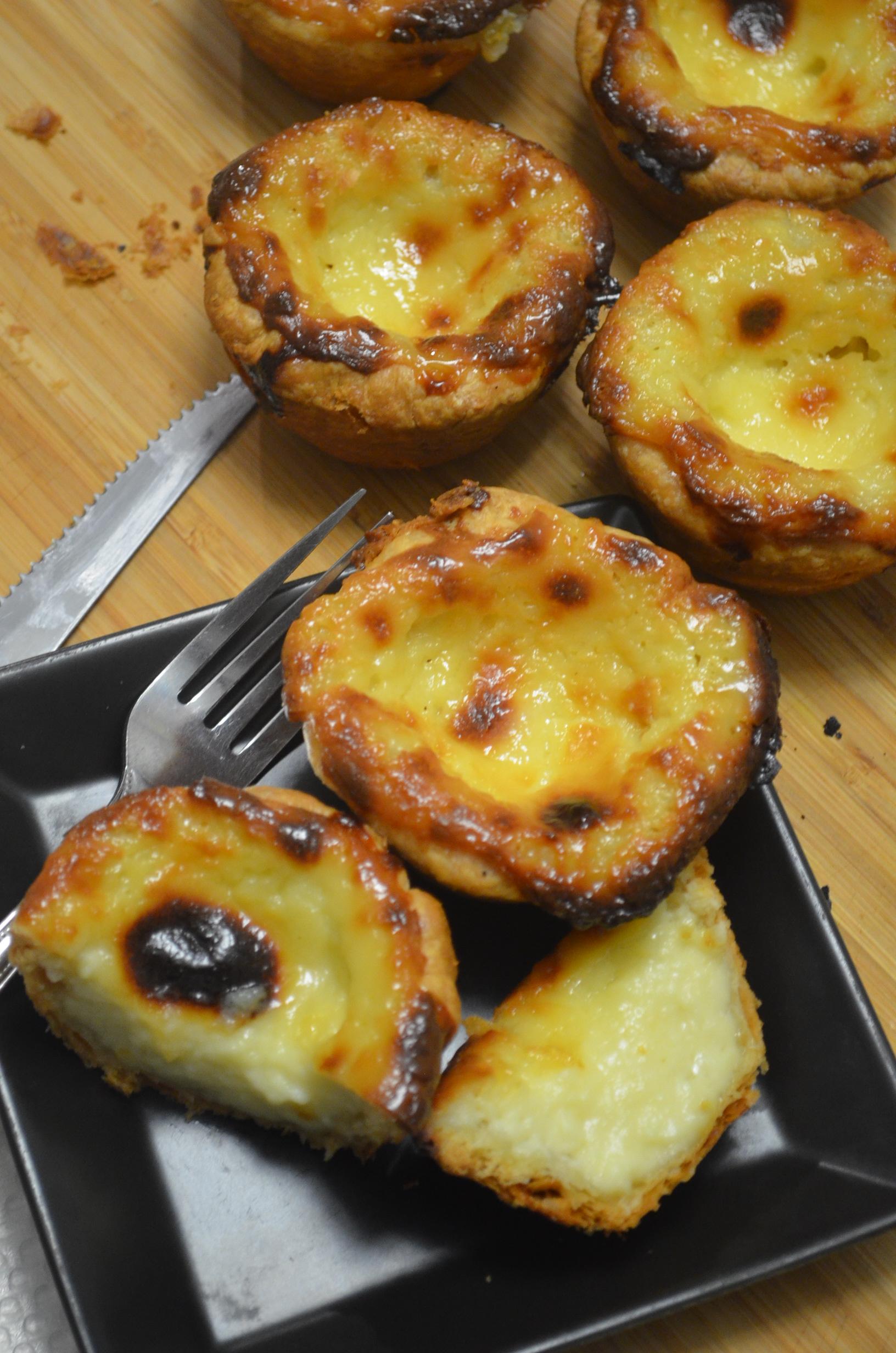 Small Batch Macau Style Portuguese Egg Tart.