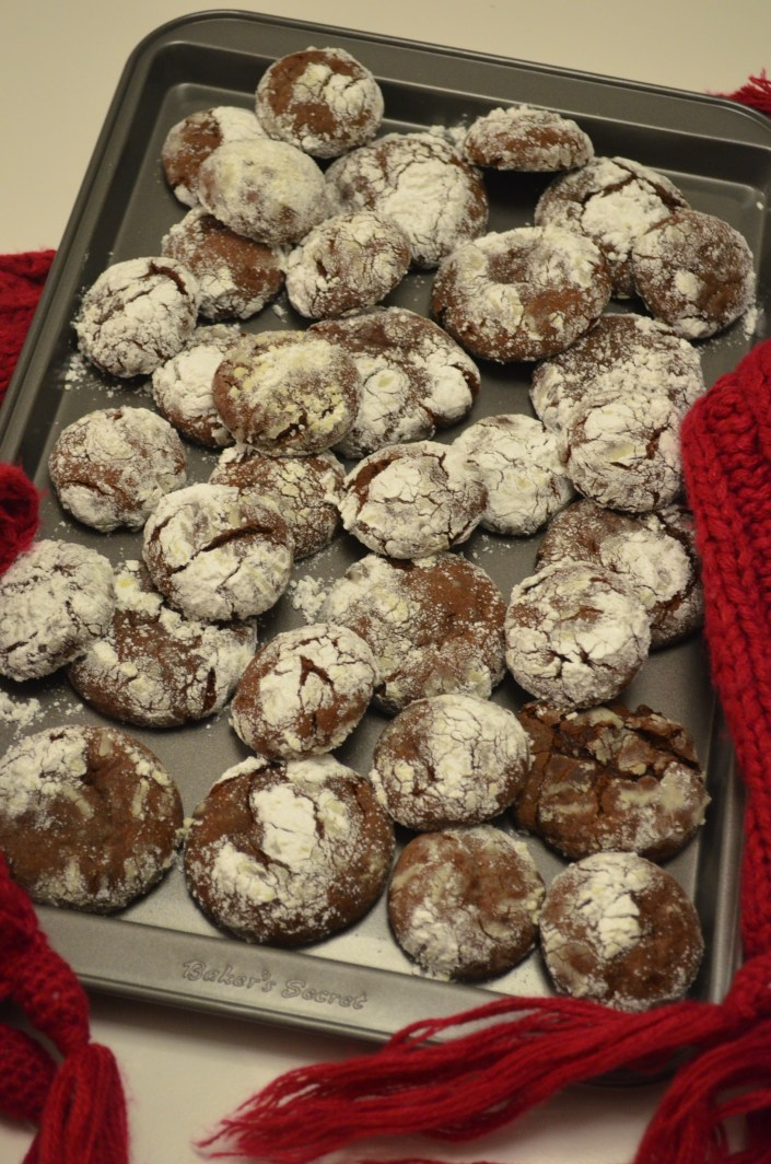 Small Batch  Chocolate Crinkles