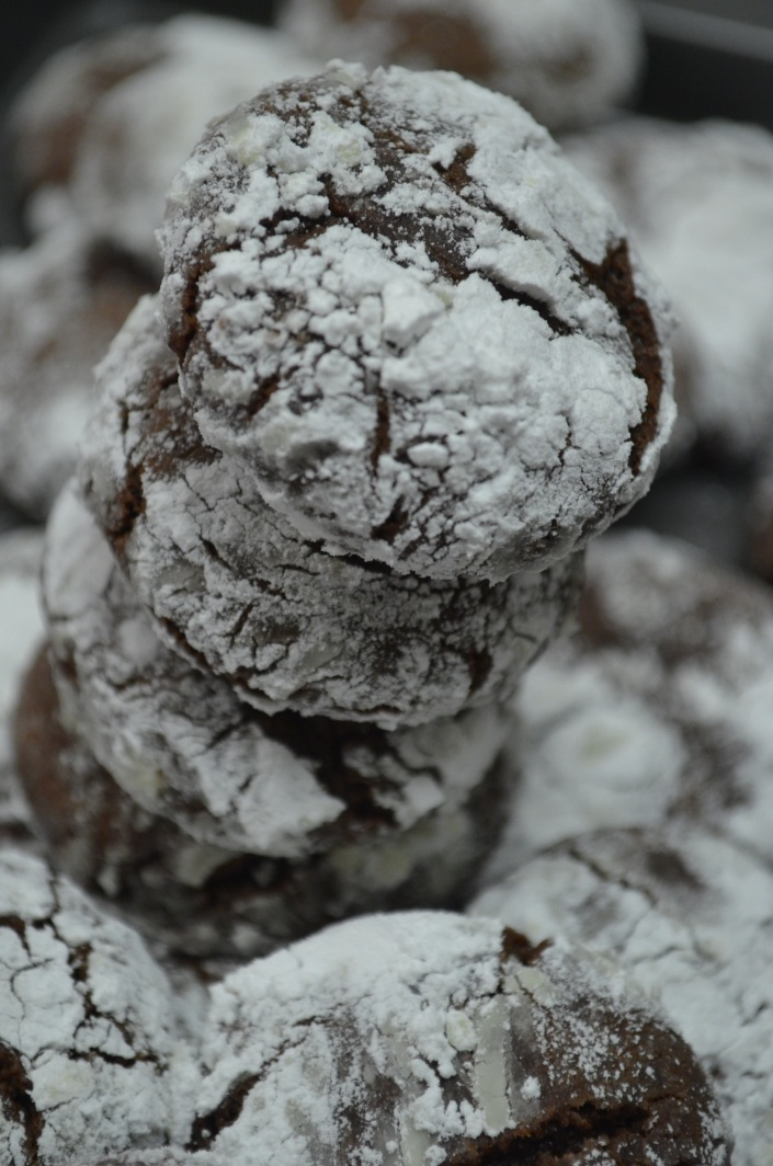 Chocolate Crinkles (Small Batch)