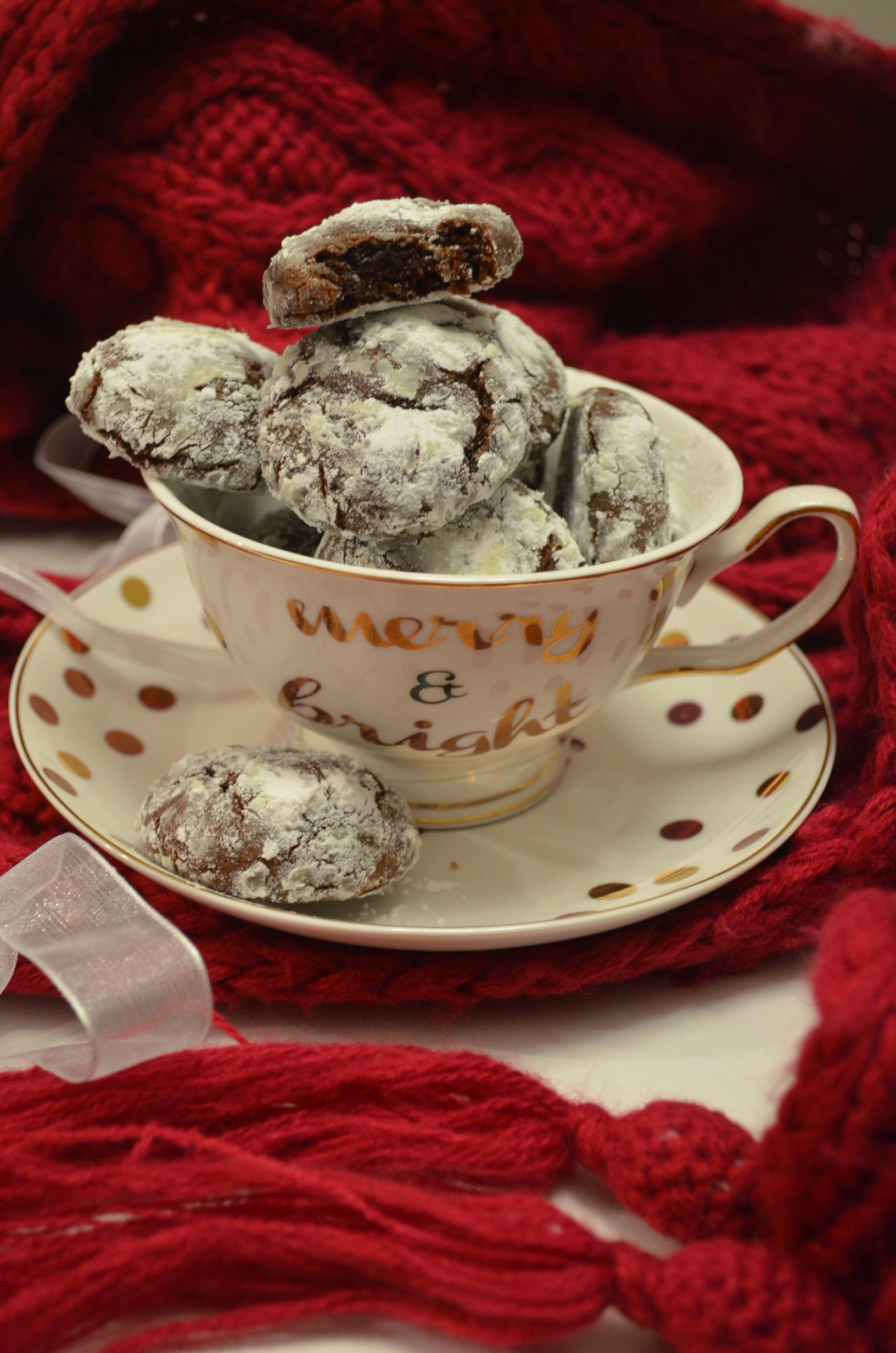 Chocolate Crinkles Small Batch Recipe