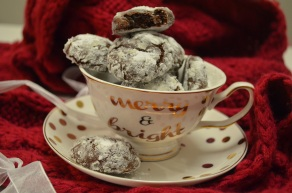 Chocolate Crinkles Cookie