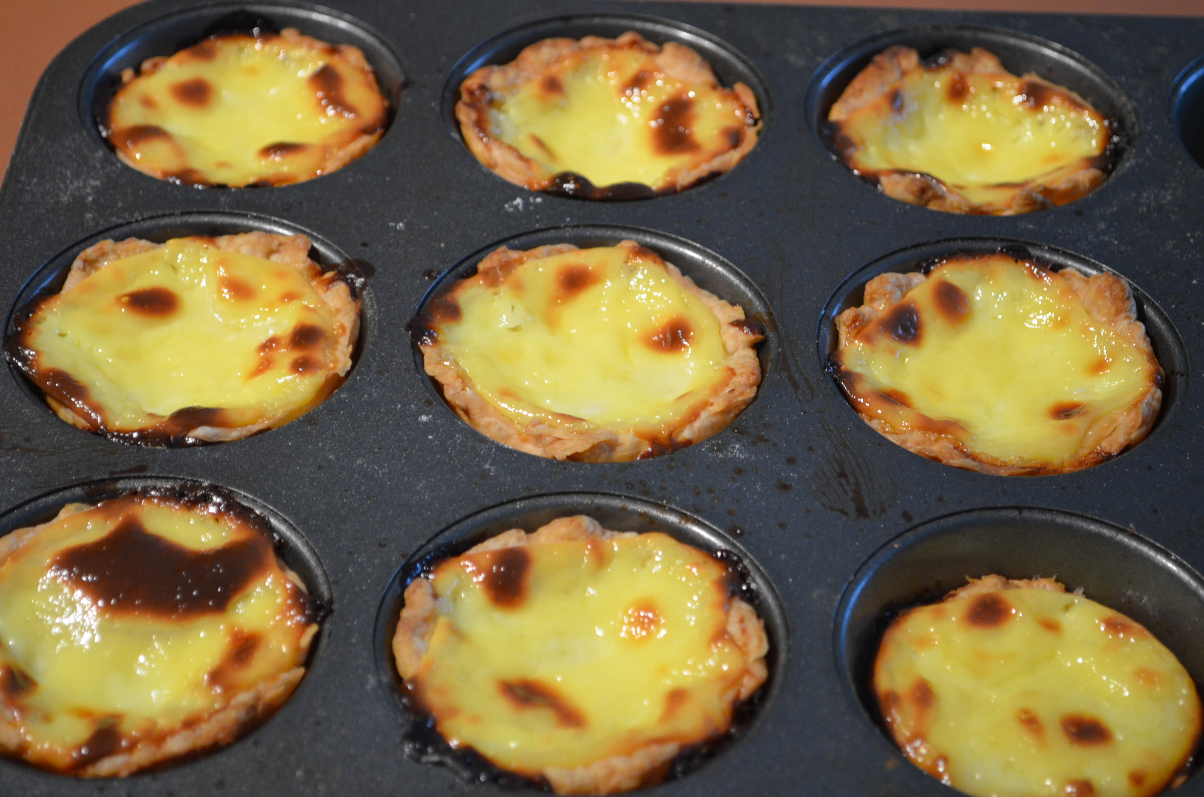 Small Batch Macau Style Portuguese Egg Tart
