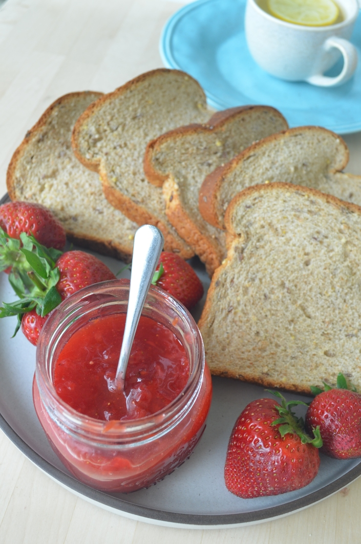 Homemade Strawberry Jam No Preservative