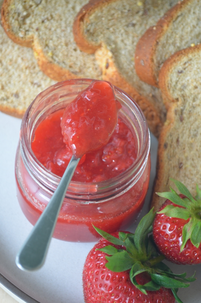 Small Batch Homemade Strawberry Jam