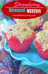 Strawberry Streusel Muffin 1