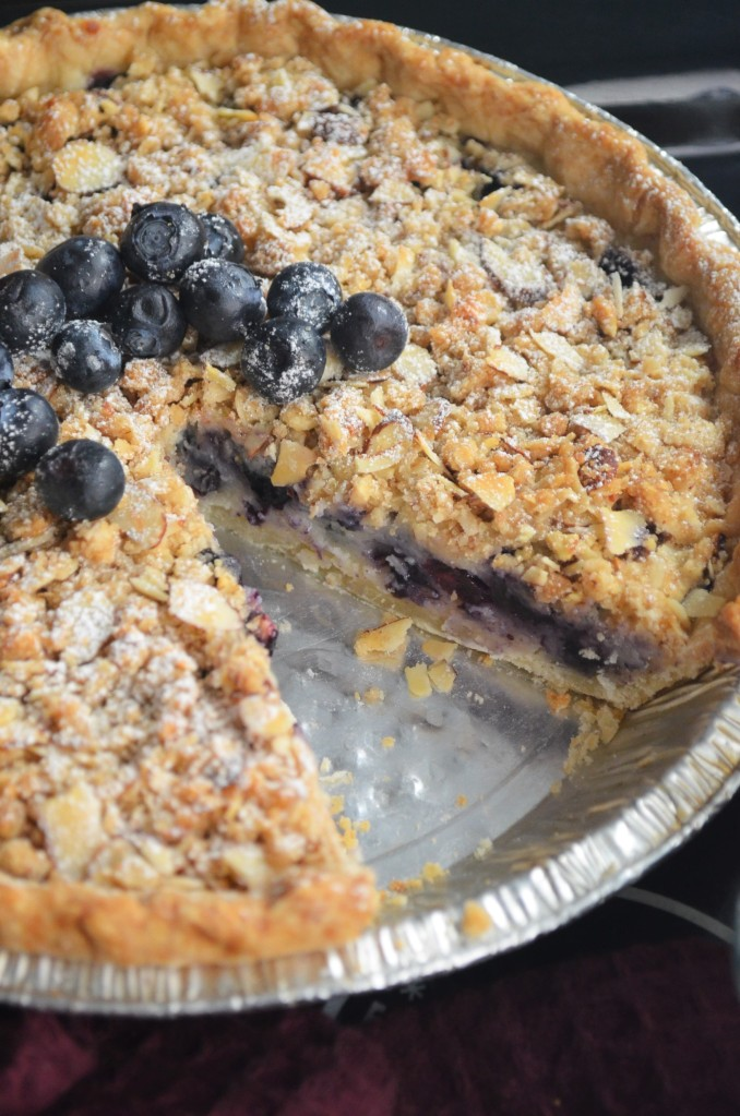 Blueberry Crumble Pie By SweetNSpicyLiving