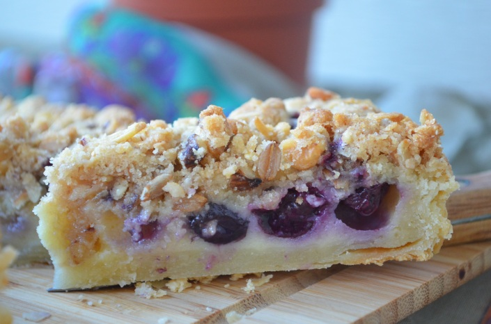 Blueberry Pie Tart