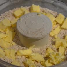 Mix Flour mixture and Butter using fodd processor