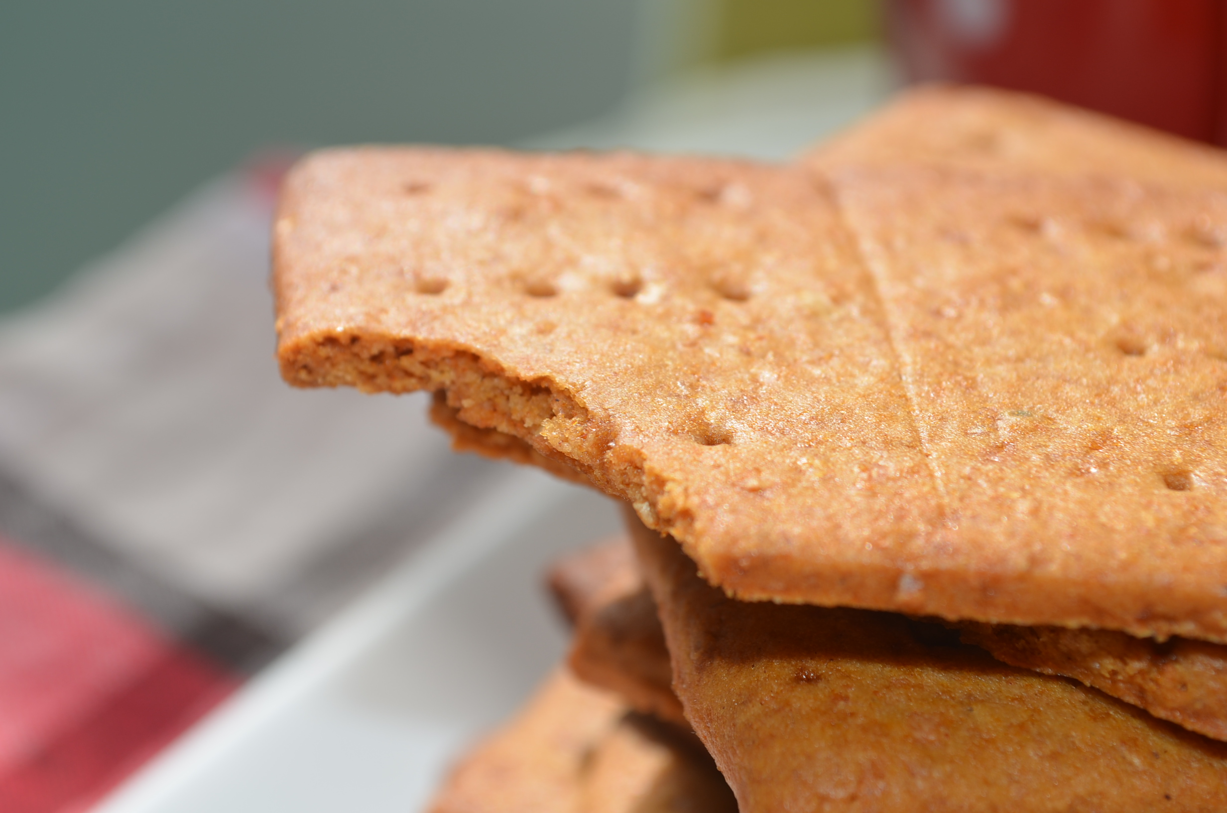 Homemade Graham Crackers Biscuit
