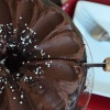 Dark Chocolate Chiffon Cake Recipe