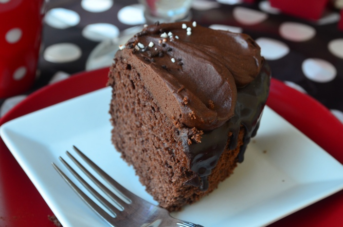 Triple Dark Chocolate Chiffon Cake Recipe