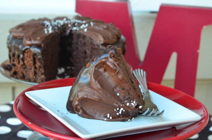 Dark Chocolate Chiffon Cake Recipe