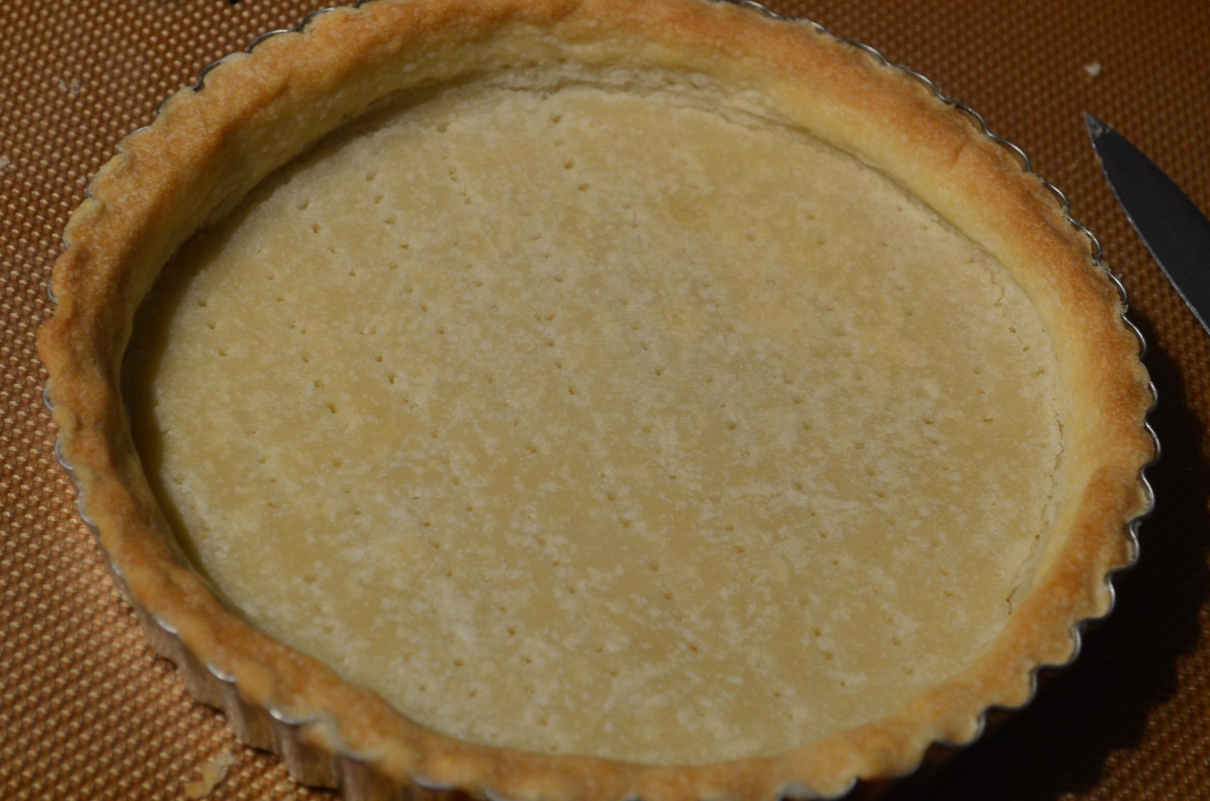 Shortbread Pie Crust Recipe