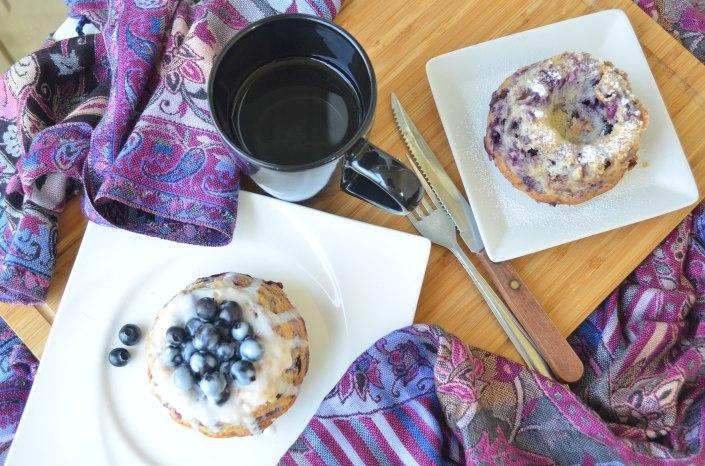 Mini Blueberry Bundt Cake Recipe