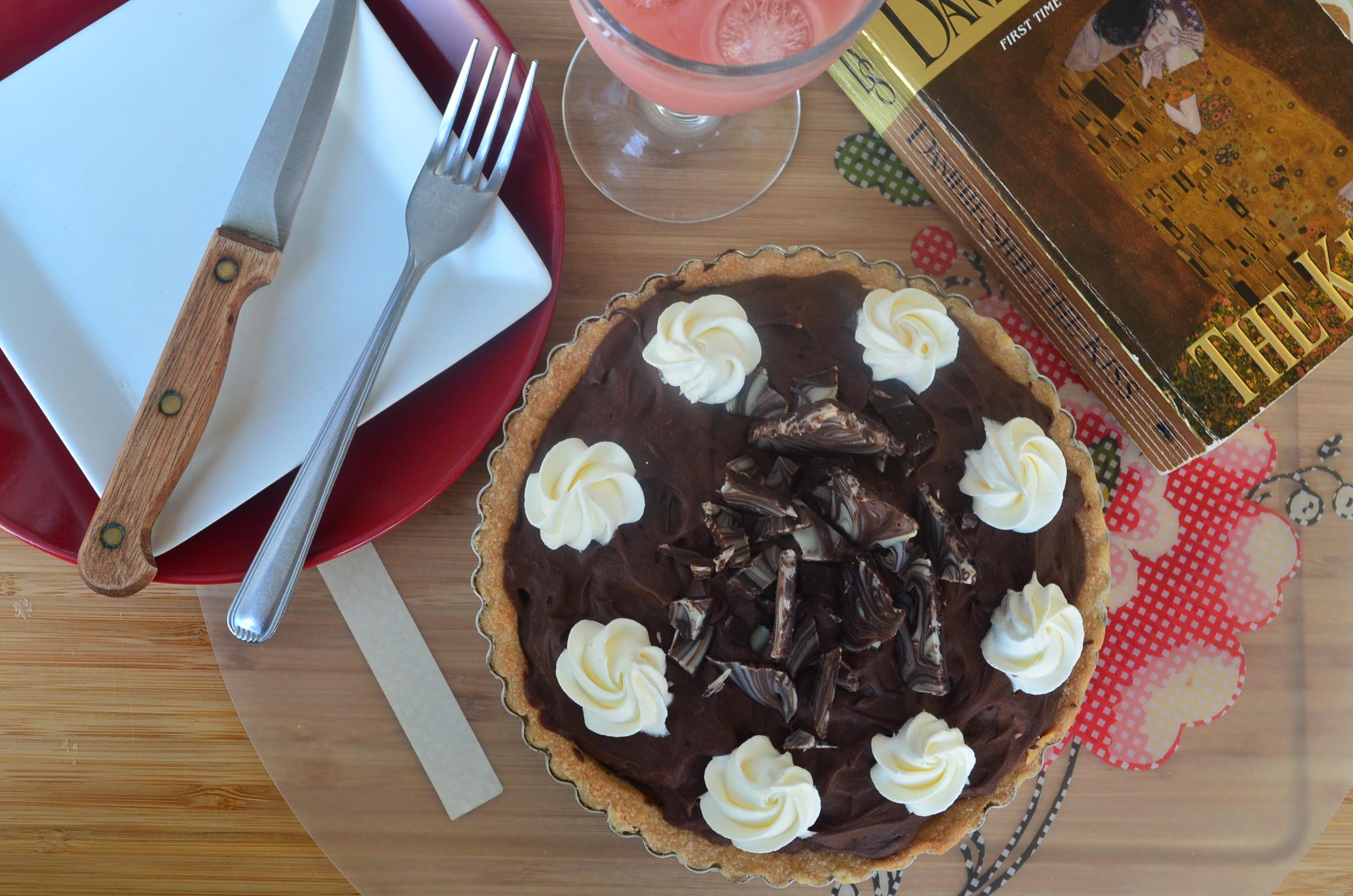 Banoffee Shortbread Tart