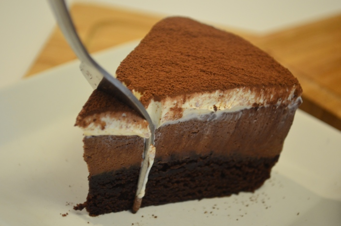 3 Layers Chocolate Mousse Cake