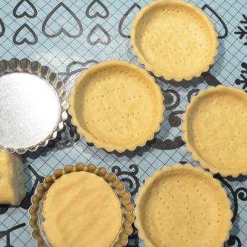 Prepare Shortbread Tart Crust