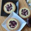 Blackberry Shortbread CheeseTart