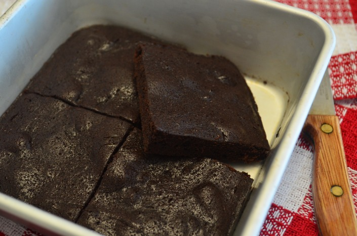 Single Serve Thin and Fudgy Brownie