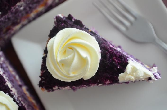 Filipino Ube Cake